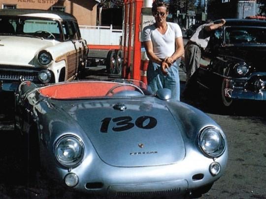 Porsche 4 James Dean